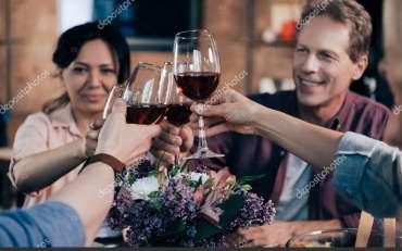 I miglior vino è quello che beviamo con gli amici