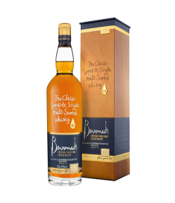 Benromach 15 years old. Speyside single malt scotch whisky. Gradazione alcolica 43,0%.