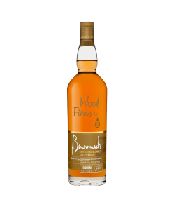 Benromach Sassicaia Wood Finish. Speyside single malt scotch whisky. Gradazione alcolica 45,0%.