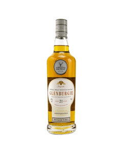 Glenbourgie 21 yers old. Speyside single malt scotch whisky. Gradazione alcolica 43,0%.