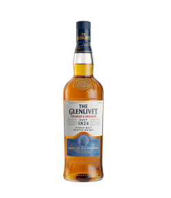 Glenlivet Founders Reserve. Speyside Single Malt Scotch Whisky. Gradazione alcolica 40,0%.