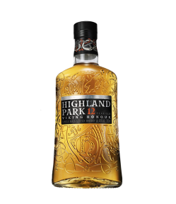 Highland Park 12 years old. Single Malt Scotch Whisky. Gradazione alcolica 40,0%.
