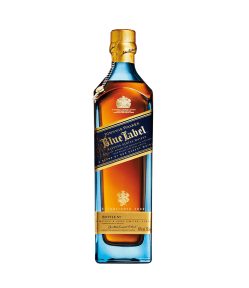 Johnnie Walker Blue Label. Blended Scotch Whisky. Gradazione alcolica 40,0%.