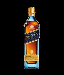 Johnnie Walker Blue Label. Blended Scotch Whisky. Gradazione alcolica 40,0%.