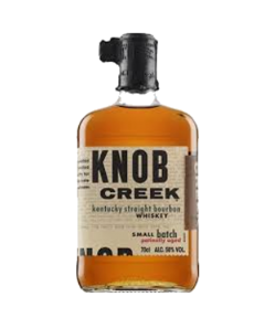 Knob Creek. Kentucky Straight Bourbon Whisky. Gradazione alcolica 50,0%.