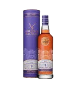Miltonduff 10 years old Gordon. Speyside single malt scotch whisky. Gradazione alcolica 43,0%.