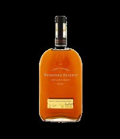 Woodford Reserve. Kentucky Straight Bourbon Whisky. Gradazione alcolica 43,0%.