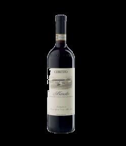 Barolo Docg Ceretto. Vino Rosso Piemonte. Gradazione alcolica 13,0%.