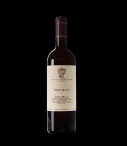 """Barbaresco """"Martinenga"""" Docg. Vino Rosso Piemonte. Gradazione alcolica 12,5%."""