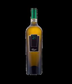 Vino di giusta pienezza al palato, il Frascati Sesto 21 DOCG del 2018 è un vino nobile di grande struttura che freschi aromi mandorlati.