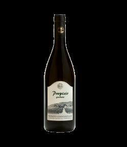 Vino di straordinaia freschezza e sapidità, il Propizio Lazio IGP ha profumo elegante di frutta esotica e biancospino. Molto fresco e sapido è un vino prodotto biologicamente.