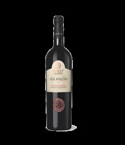 Vino rosso del Lazio, il Cesanese del Piglio San Magno Docg 2016 riporta sentori floreali e speziati. Ha un sapore è morbido ed un gusto secco e persistente, aromatico.
