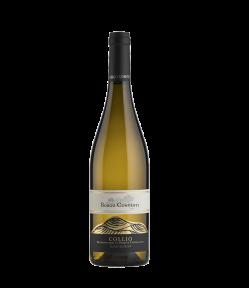 Sauvignon Collio Doc 2018 è un vino elegante, di razza e di lunga persistenza aromatica. All'olfatto è intenso e variegato con profumi che si sposano perfettamente con note di pietra focaia.