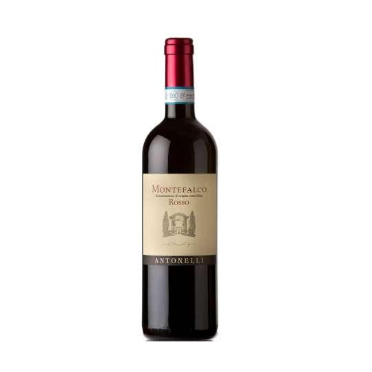 Montefalco Rosso DOC. Vino rosso secco, equilibrato e di buona struttura. La freschezza del Sangiovese gli conferisce un'ottima bevibilità.