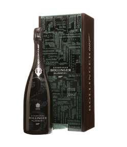 Champagne Bollinger 007 Limited Edition Brut Blanc de Noirs 2011. Gusto deciso e appagante, corposo ed equilibrato. Ideale con ostriche.