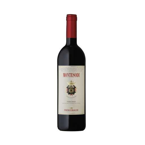 """Toscana Rosso """"Montesodi"""" IGT. Colore rosso rubino brillante. Al naso note di fiori di ciliegio, ibisco. Al palato e' fresco, seducente."""