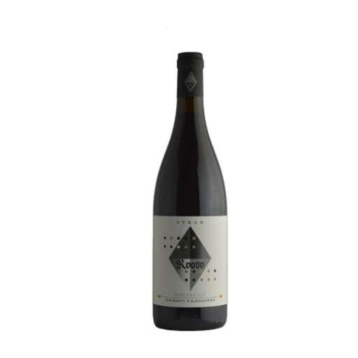 Syrah Toscana IGT Bio D'Alessandro. Vino di tutti i giorni, rosso splendente, profuma di more, liquirizia. Ideale con carne, salumi, pasta al ragù.