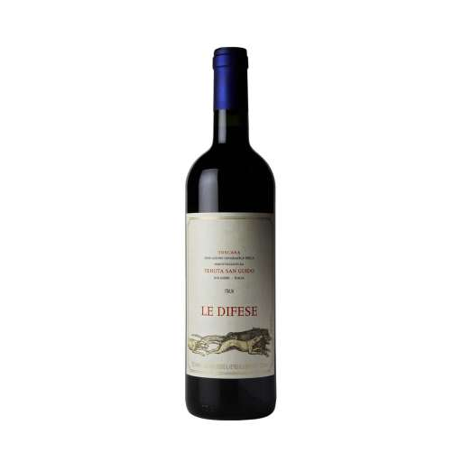 """Toscana Rosso """"Le Difese"""" IGT. Colore rosso rubino, profuma di frutta e spezie balsamiche. Fresco, pieno, elegante, ottimo con la carne."""