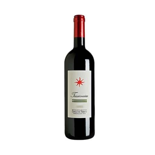 """Toscana """"Tassinaia"""" IGT. Colore rosso rubino, al naso offre profumi di frutti di bosco, frutta rossa. Buono l'assaggio, lungo e persistente nel finale."""
