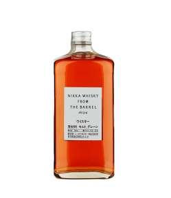 Nikka From the Barrel Blended. Whisky dagli aromi freschi floreali, di frutta e spezie. Morbido e deciso al palato con note di vaniglia.
