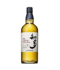 The Chita Single Grain Japanese. Whisky dal profumo morbido, di miele, vaniglia e spezie, aromi di caramello. Dal finale piacevolmente dolce.
