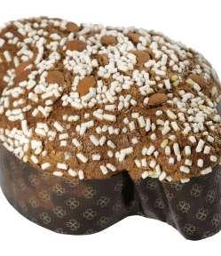 Colomba pasquale Pepe. Ricetta originale classica con mandorle, zucchero, glassa, dall'impasto soffice, è una delle versioni più vendute della pasticceria Pepe.
